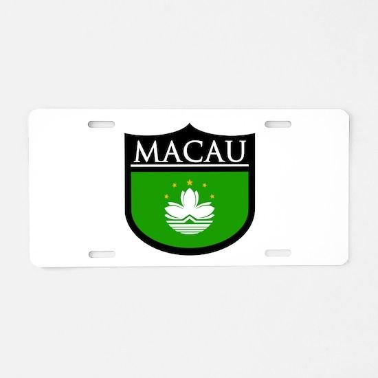Macau Patch Aluminum License Plate