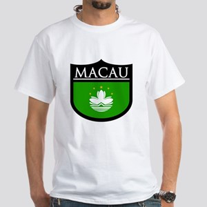 Macau Patch White T-Shirt