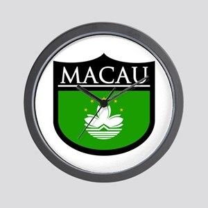 Macau Patch Wall Clock