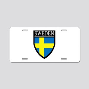 Sweden Patch Aluminum License Plate