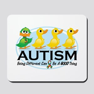 Autism Ugly Duckling Mousepad
