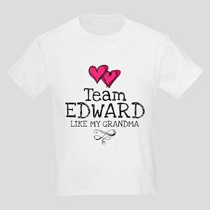 Grandma Lovez Edward Kids Light T-Shirt