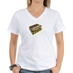 suitcase of courage Women's V-Neck T-Shirt