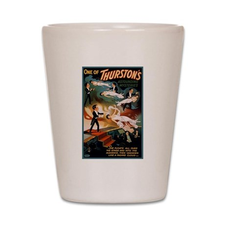 Thurston's Astounding Mysteries Shot Glass