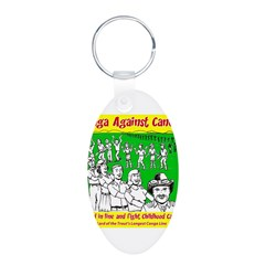 Conga Against Cancer Keychains