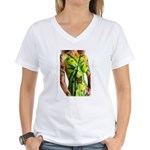 Women's V-Neck T-Shirt F&B