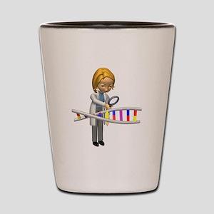 DNA Scientist Shot Glass