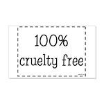 100% Cruelty Free 22x14 Wall Peel