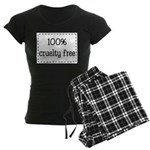 100% Cruelty Free Women's Dark Pajamas