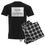 100% Cruelty Free Men's Dark Pajamas