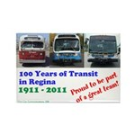 100 Years of Transit Magnet (10 pack)