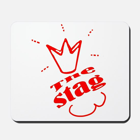 Stag The Bachelor party Mousepad