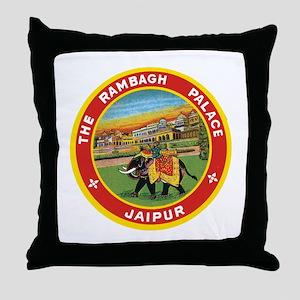 Elephant Jaipur Throw Pillow