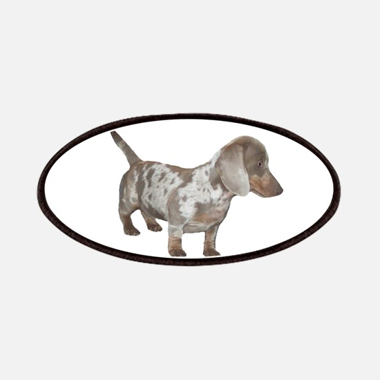 Speckled Dachshund Dog Patches