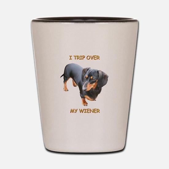 I Trip Wiener Shot Glass