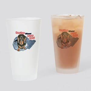 Keep Your Wiener Dog Drinking Glass