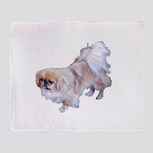 Pekingese Dog Throw Blanket