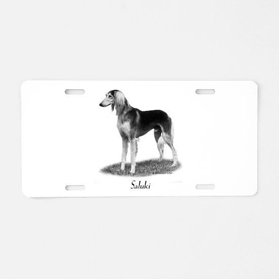 Saluki Aluminum License Plate
