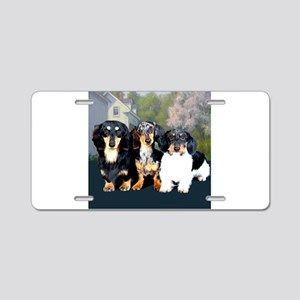 Sweet Doxie Group Aluminum License Plate
