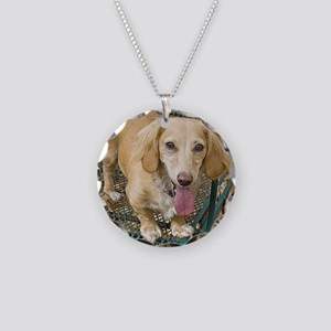 Park Day Necklace Circle Charm