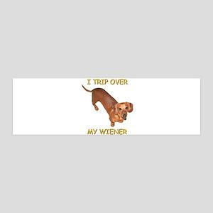 Trip Wiener 42x14 Wall Peel