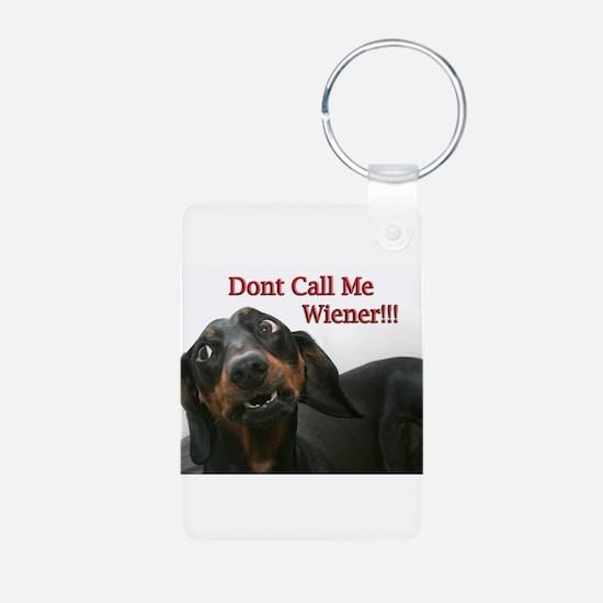 Who U Callin Wiener Keychains