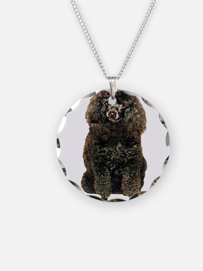 Black Poodle Necklace