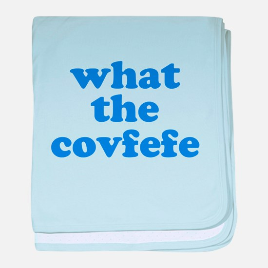 What the Covfefe baby blanket