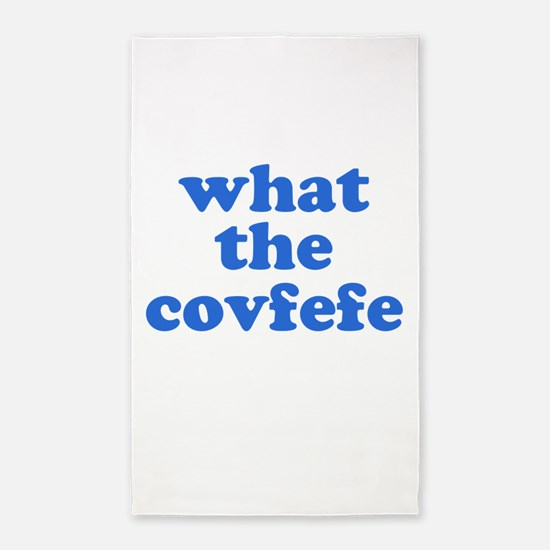 What the Covfefe Area Rug