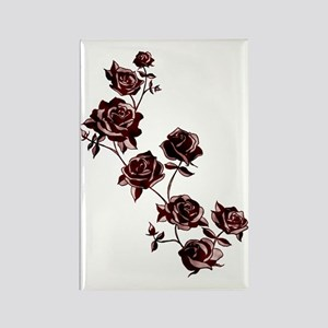 All the Pretty Roses Rectangle Magnet