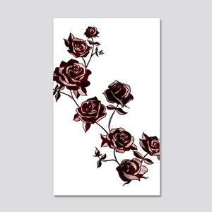 All the Pretty Roses 22x14 Wall Peel