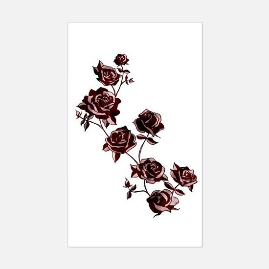 All the Pretty Roses Sticker (Rectangle)