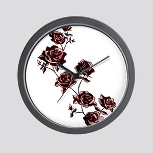 All the Pretty Roses Wall Clock