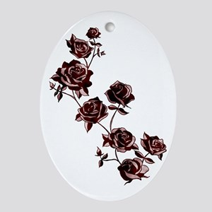 All the Pretty Roses Ornament (Oval)