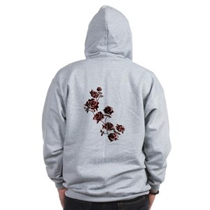 All the Pretty Roses Zip Hoodie