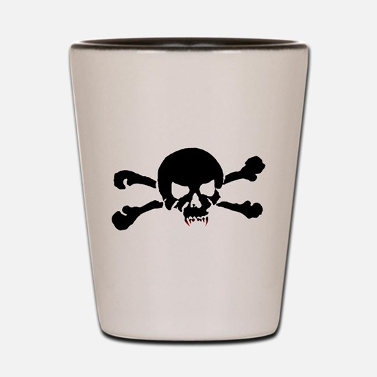 Skull of the Undead Shot Glass