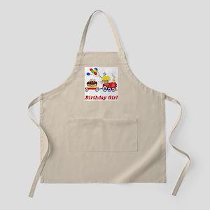 Birthday Train - Girl BBQ Apron