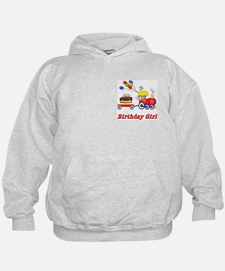 Birthday Train - Girl Hoodie