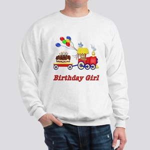 Birthday Train - Girl Sweatshirt