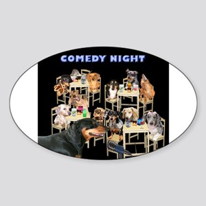 Comedy Sticker (Oval 10 pk)
