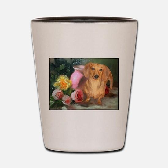 Vase Doxie Shot Glass