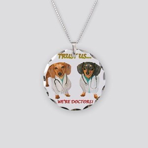 Doc Doxs Necklace Circle Charm