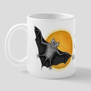 Halloween Vampire Bat Mug