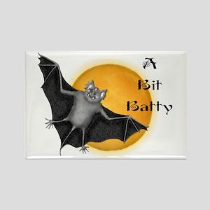 Halloween Vampire Bat Rectangle Magnet