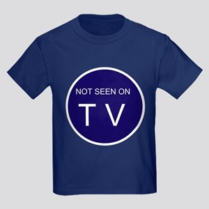 NOT SEEN ON TV Kids Dark T-Shirt