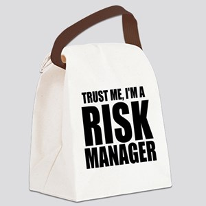 Trust Me, I'm A Risk Manager Canvas Lunch Bag