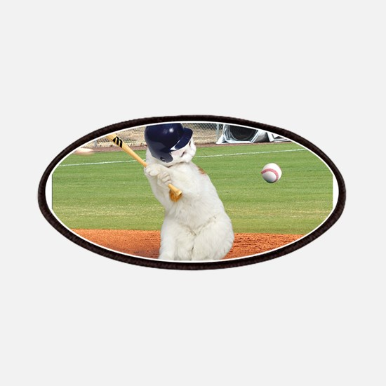 Baseball Cat Patches