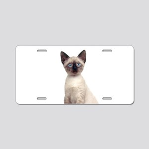 Siamese Aluminum License Plate