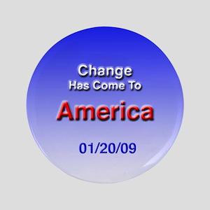 "President Obama New Birth 3.5"" Button"