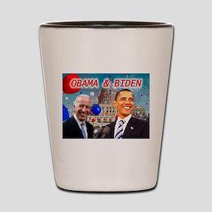 Obama White House Shot Glass